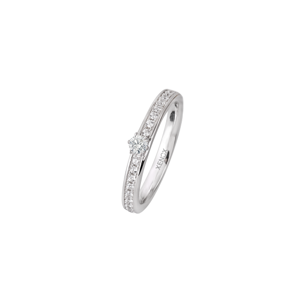 XENOX & FRIENDS Ring Sterlingsilber Zirkonia